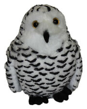 National Geographic Snow Owl Bird [15cm] Soft Plush Toy NEW
