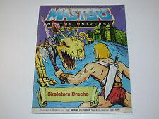 MOTU HE-MAN MASTERS OF THE UNIVERSE MINI COMIC 1984 SKELETOR'S DRAGON DE IT FR