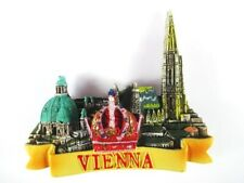 Wien Stephansdom, Krone Vienna Österreich Poly Magnet Souvenir Austria,Neu