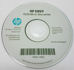 CLONE HP Printer CD Driver Software Disc Envy 4520 4527 4524 all in One series
