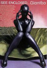 Metallic Black Full Body Lycra Zentai spandex Unisex catsuit S-XXL