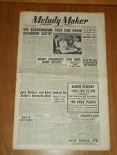 MELODY MAKER 1949 #820 APR 23 JAZZ SWING ROBIN RICHMOND BENNY GOODMAN WALLACE