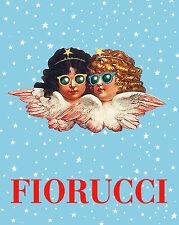 """Fiorucci Angel's Poster Print • A 1970s Classic • On Non Fade 16x20"""" Photo Paper"""