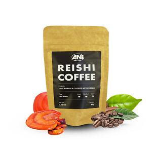 Premium Organic 100% Arabica Grounded With Reishi Powder 60g ANi doypack