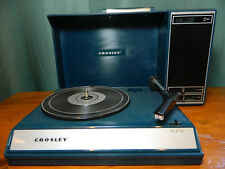 Crosley CR6016A Record Player Portable Suitcase Turntable USB Spinnerette Blue