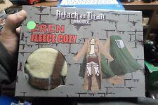 Attack on Titan Eren Fleece Cozy Snuggie Blanket with Sleeves & Cape