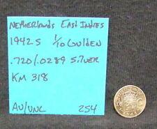 Netherlands SILVER COIN LOT 1 1/4 1/10 Gulden  10 25 Cents 1917 1928 1937 1957