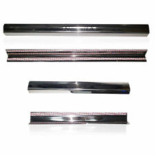 NISSAN NAVARA D40 05-13 4 DOORS SILL SCUFF PLATE STAINLESS STEEL CHROME STYLE