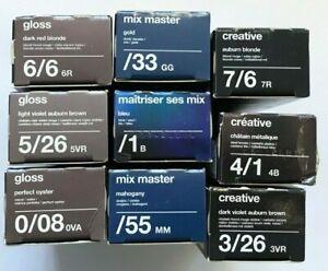3 x Tigi Colour Mix Master Gloss Creative Hair Colour Pigment Creme Cream