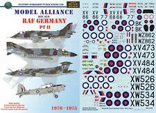 MODEL ALLIANCE DECALS 1/72 F-4 Phantom Wessex Buccaneer S2 Harrier Chipmunk(RAF)