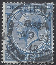 "Great Britain Stamp - Scott #163/A86 2 1/2p Ultramarine ""George V"" Canc/Lh 1912"