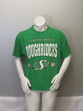 Saskatchewan Roughriders Shirt (VTG) - Type Set Script - Men's Medium