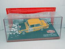 COCHE RALLY MONTECARLO POLSKI FIAT 125 P 1972 MUCHA JAWOROWICZ 1/43 CAR  IXO