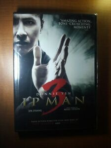 """""""IP MAN"""" 3 on DVD (NEW!) (Donnie Yen, Mike Tyson) With BONUSES!"""