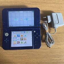 Console Nintendo New 3ds xl bleu métallique - Avec Chargeur Officiel