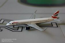 Gemini Jets British Airways Embraer ERJ-190 Current Color Diecast Model 1:400