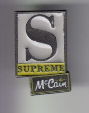 RARE PINS PIN'S ..  ALIMENT FOOD MARQUE MC CAIN FRANCE S SUPREME PIZZA ~DQ