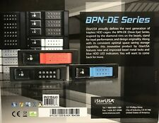 """iStarUSA - BPN-DE110SS - 5.25"""" to x 3.5"""" SATA 6.0 Gb/s Trayless Hot-Swap Cage"""