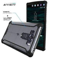 Affinity Case Shockproof + Slim TPU Rubber Silicone Hybrid Case For LG V10 Black
