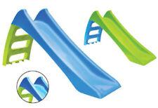 Scivolo per Bambini in Plastica Scaletta 3 Gradini con Attacco Acqua Giardino