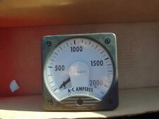 Westinghouse Ac-Amperes 0-2000 Style 291B461A31 Type Ka-241