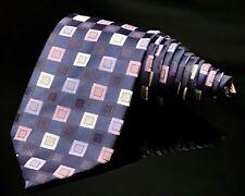 Alexander Julian COLOURS 100% Silk Necktie Multi Color Geometric  NWOT!