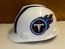 LICENSED NFL TENNESSEE TITANS MSA CERTIFIED HARD HAT ADJUSTABLE SIZE MEDIUM b1e3c00a3457