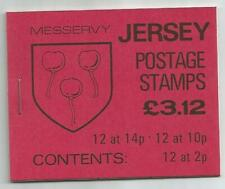 JERSEY 1986 £3.12 MESSERVY CREST BOOKLET SB37