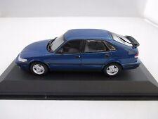 Minichamps 430170800 Saab 9-3 1999 5-door blue metallic 1:43 MIB