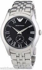 Emporio Armani AR1710 Classic Black Dial Stainless Steel Men's Watch