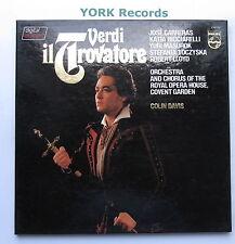 6769 063 - VERDI - Il Travatore DAVIS / CARRERAS - Ex Con 3 LP Record Box Set