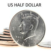 US Half Dollar (SILVER) Liberty 50 Cents U.S. Kennedy Coin for Real Magic Trick