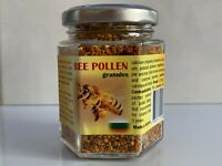BEE POLLEN GRANULES 100% PURE AND NATURE PRODUCT. SUPERFOOD AND IMMUNE BOOSTER