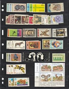 Cyprus 1980-2000 Collection on 2 Stock Pages Fresh Mint Most NH
