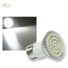 5 x E27 LED-Strahler 60x POWER SMD LEDs pur-weiß SPOT Leuchtmittel kaltweiß bulb