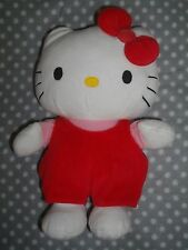 PELUCHE HELLO KITTY, hauteur 27 cm, Occasion en TBE