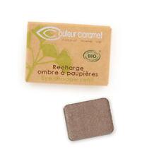Recharge Fard à Paupières n°44 Brun Prune nacrée Bio - 1,3 g - Couleur Caramel