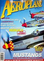 AEROPLANE  Magazine (UK) May 1999 Flight testing Supermarine Jets m65