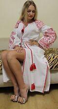 Ukrainian Embroidered Dress Vita Kin Style Vyshyvanka embroidery