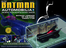 COLECCION COCHES DE METAL ESCALA 1:43 BATMAN AUTOMOBILIA Nº 73 DARK KNIGHT #198