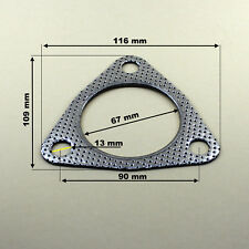 Dichtung für Mitsubishi Carisma und Volvo S40 , V40  Mittel -> Endschalldämpfer
