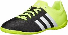 Adidas Ace 15.4 indoor Shoes Kids Youth Size Us 5 B27010 Black Neon Soccer