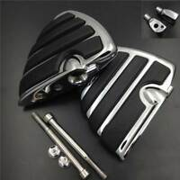 Billet aluminum Front Wing Foot Rest Pegs For 2002-2009 Yamaha Road Star Warrior