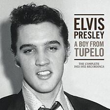 ELVIS PRESLEY - A BOY FROM TUPELO: THE COMPLETE 1953-1955 RECORDINGS  3 CD NEU