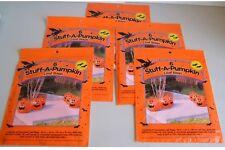 Halloween Lawn Leaf Bags Stuff-A- Pumpkin 6 Pack (x5)