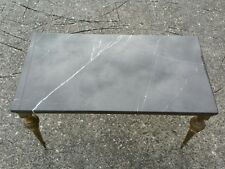 Marble Coffee Table Melbourne Brown Marquina Top New Base Vintage