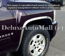 Chrome Stainless Steel Fender Trims (4 PCS) FOR Chevy Silverado 1500 2500 3500