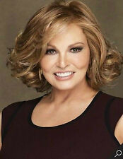 Raquel Welch Brown Curly Hair Wigs Fashion Short Women's Wig