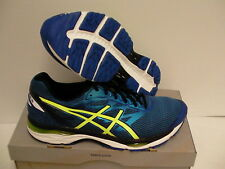 Asics men gel cumulus 18 imperial safety yellow running shoes size 12.5 us