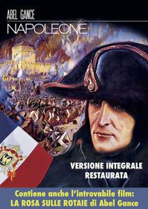 Napoleone (1927) Versione Integrale + La Rosa Sulle Rotaie, 1923 (Dvd) **NUOVO**
